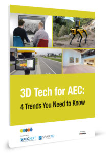 3D Tech for AEC Cover