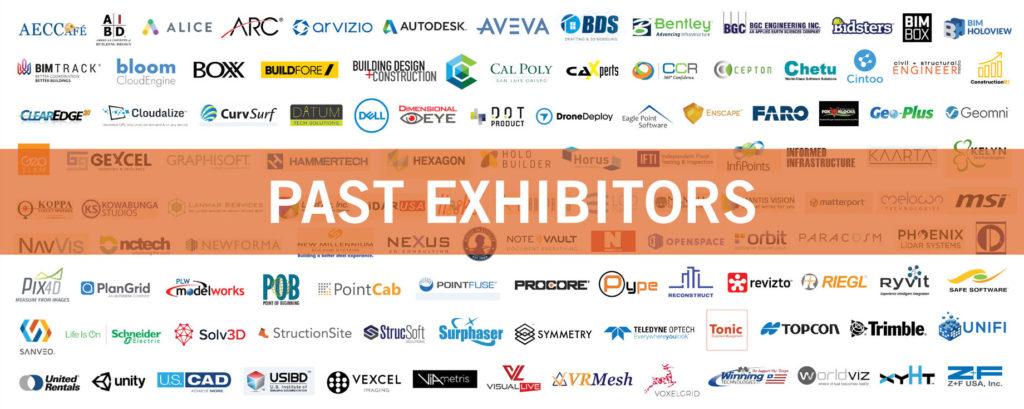 Past AEC Next / SPAR 3D Exhibitors